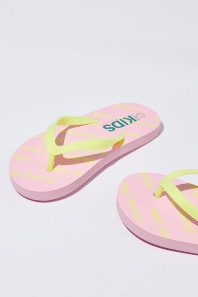Printed Flip Flop, G CHASE THE SUN