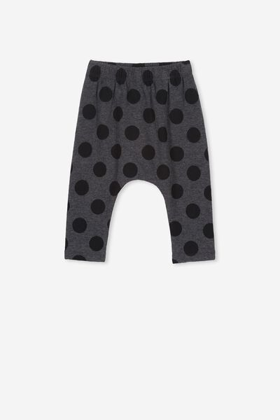be6364a09 The Legging, DANA SPOT GRAPHITE MARLE/BLACK. Cotton On Kids