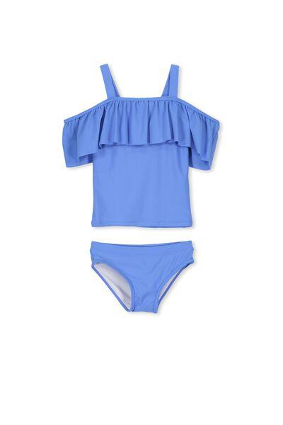 Ailie Frill Tankini, BLUE DAISY
