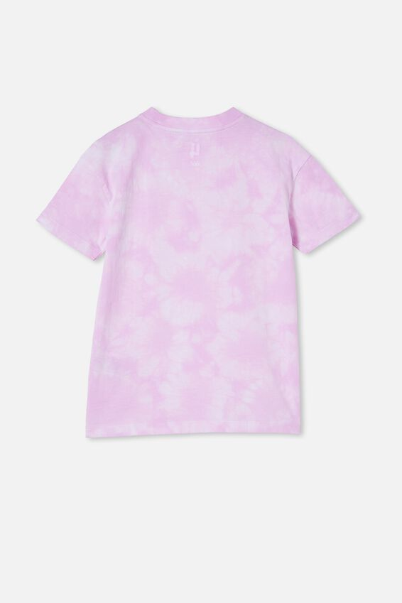 Scout Drop Shoulder Short Sleeve Tee, PALE VIOLET TIE DYE/JUST THE TWO OF US