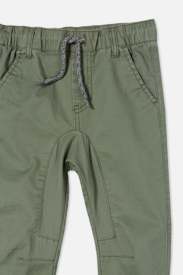 Logan Cuffed Pant, SWAG GREEN