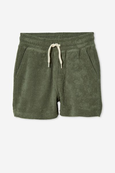Henry Slouch Short 80/20, SWAG GREEN/TERRY TOWELLING