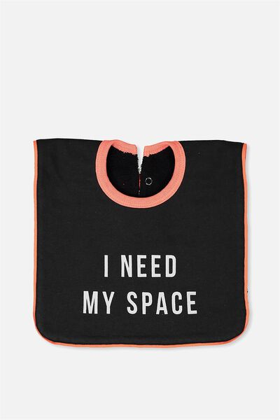 Hansel And Gretel Babies Bib, PHANTOM/I NEED MY SPACE