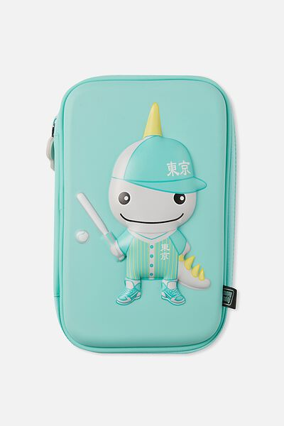 Sunny Buddy Tokyo Molded Pencil Case, JACK