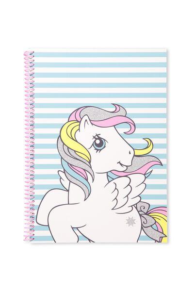 A4 Everyday Sketchbook, BLUE MY LITTLE PONY