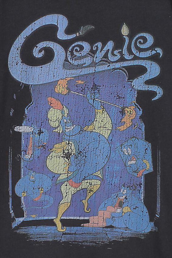 Aladdin Genie Short Sleeve Tee, LCN PHANTOM GENIE