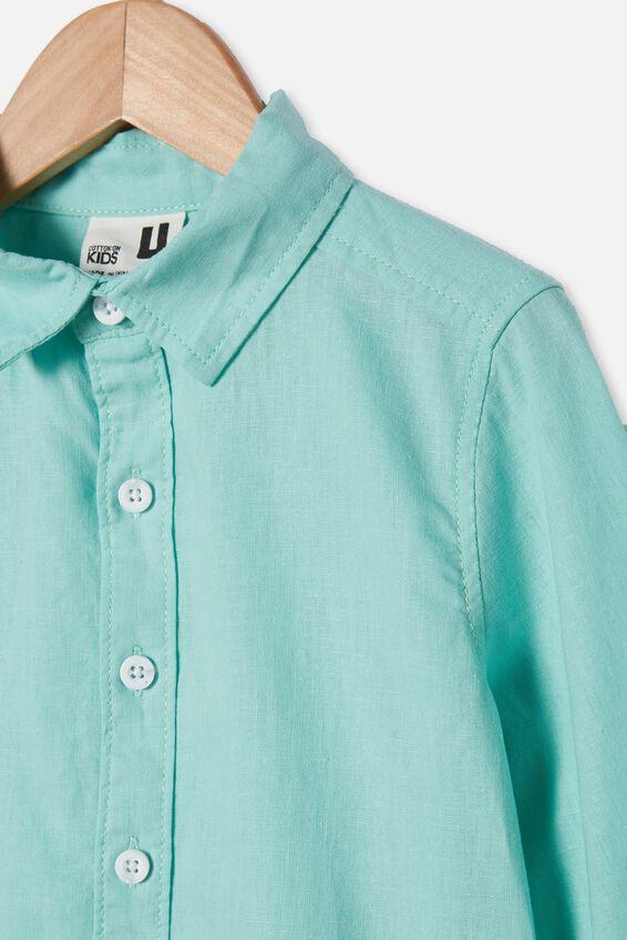 Harper Long Sleeve Shirt, MINT BREEZE