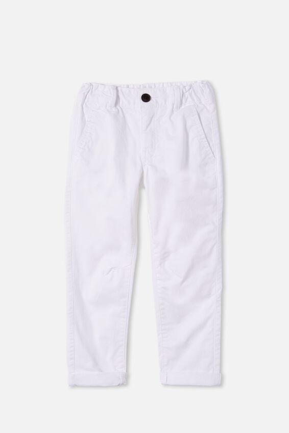 Roller Chino, WHITE