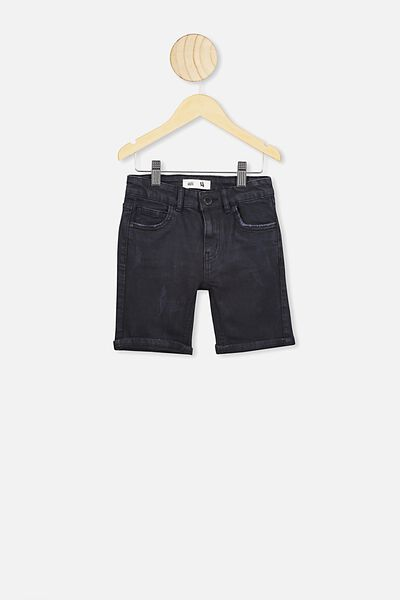 Bermuda Dnm Short, BLACK WASH RR