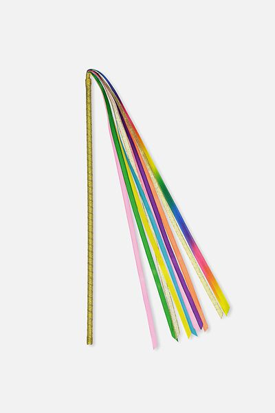 Shooting Stars Wand, RAINBOW STREAMER