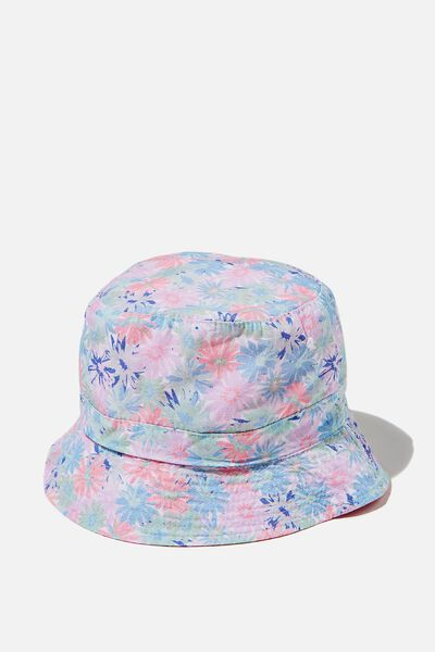 License Bucket Hat, LCN KIP PETAL POWER