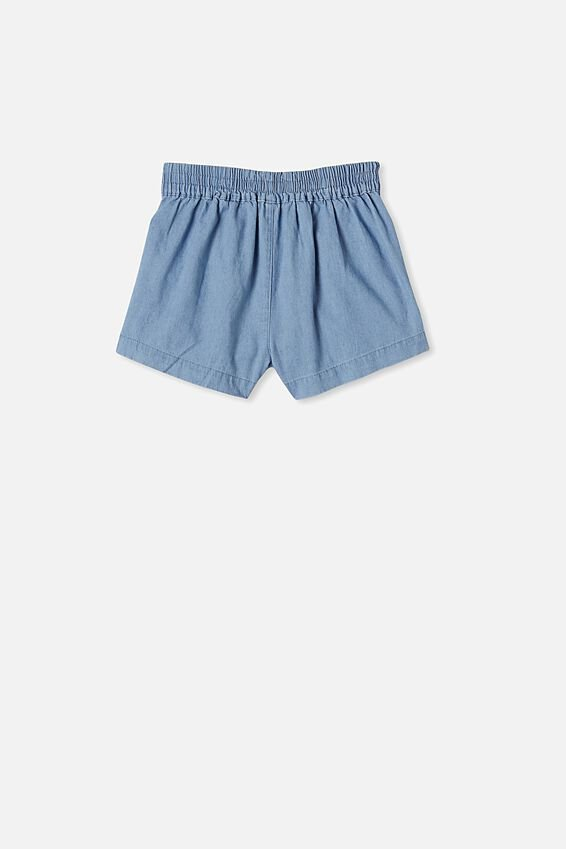 Cassidy Short, MID WASH BLUE