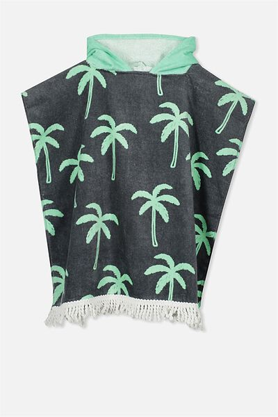 Kids Hooded Towel, PALM TREE
