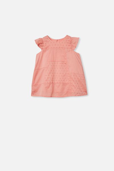 Mabel Dress, SMOKED SALMON