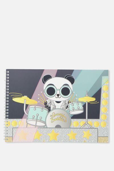 A4 Sketch Book, OLI DRUM