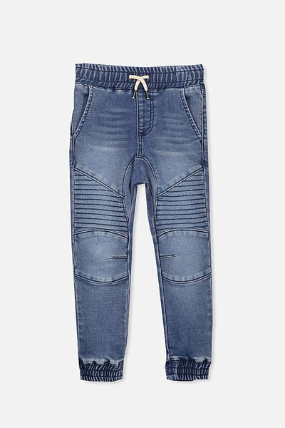 Bobby Denim Trackpant, WISTERIA BLUE WASH