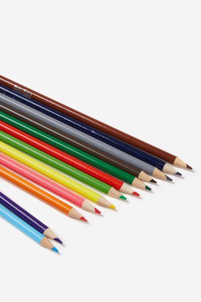 12Pce Coloured Pencil Pack, COLOUR