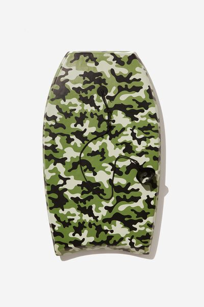 Kids Boogie Board, GREEN CAMO PRINT