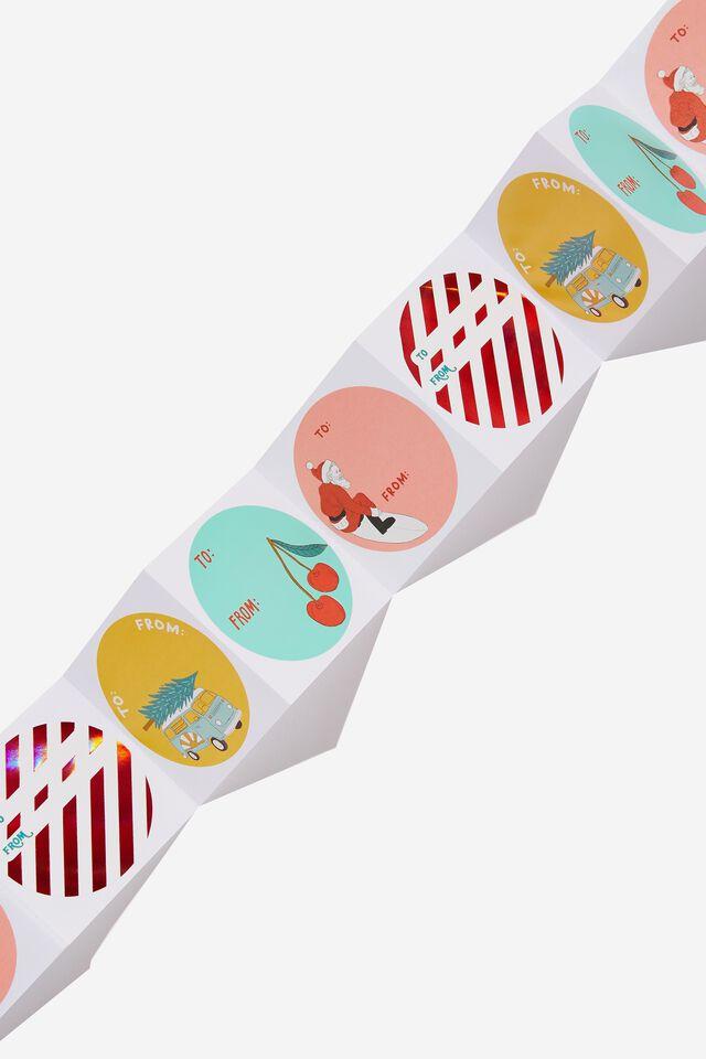 Christmas Wrap Stickers, AUSTRALIAN CHRISTMAS