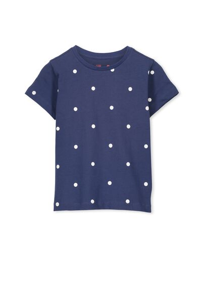 Max Short Sleeve Tee, CAPTAIN BLUE/SPOT