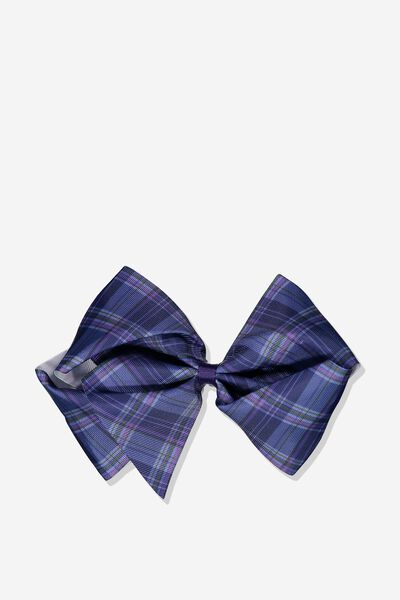 Statement Bows, PEACOAT BLUE/CHECK