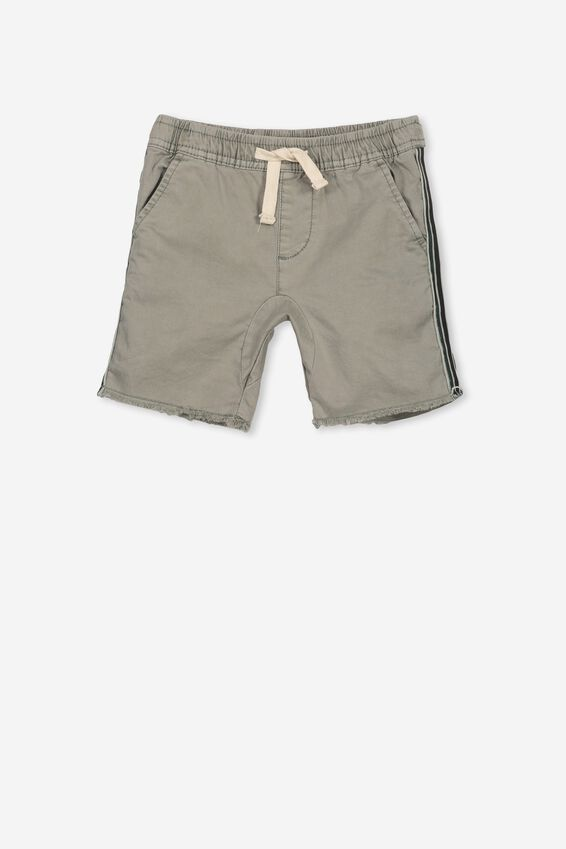 Rocco Short, WASHED MOSS/STRIPE