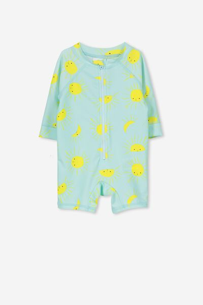 Harris One Piece, AQUA TINT/SUNSHINE