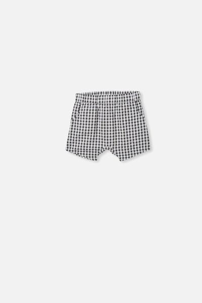 Kelly Short, BEETLE GREEN/MINI GINGHAM