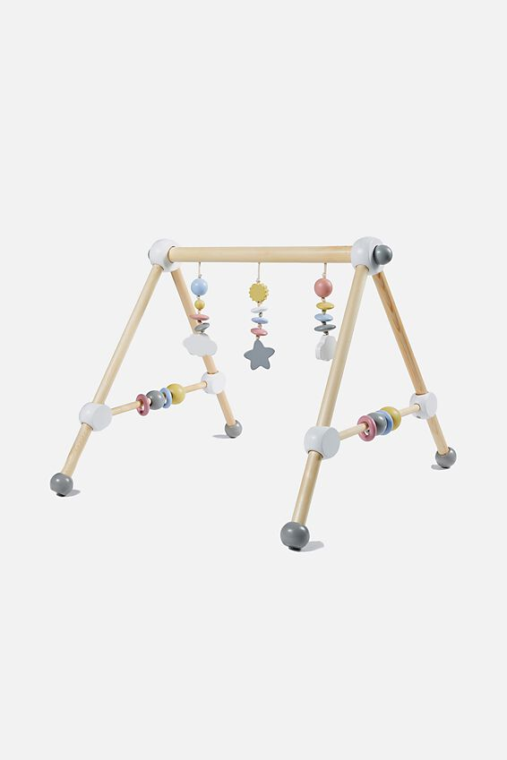 Wooden Play Gym, MULTI