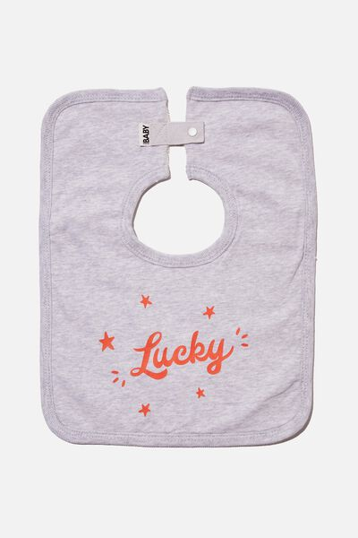 The Square Bib, CLOUD MARLE/LUCKY