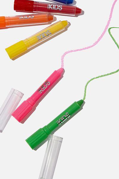 Mini 6Pk No Mess Crayons, BRIGHTS