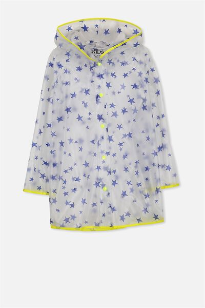 Twilight Raincoat, BLUE STARS AND YELLOW