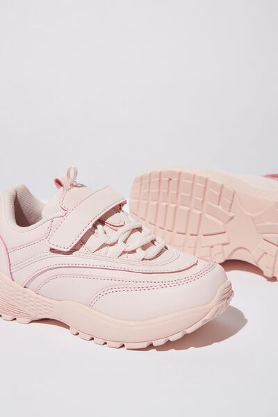 Chunky Lace Up Trainer, PRIMROSE PINK