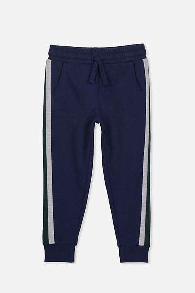 Heritage Trackpant, INDIAN INK/SPLICE