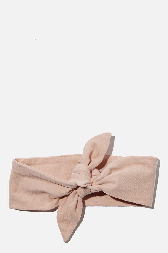 The Tie Headband, PEACH WHIP