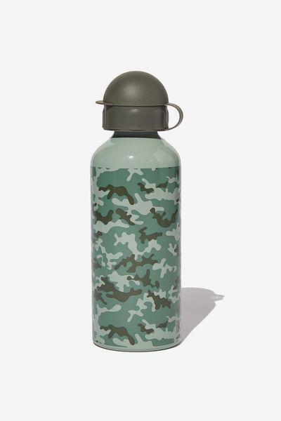 Aluminium Drink Bottle, CAMO