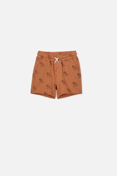 Henry Slouch Short, AMBER BROWN DINO