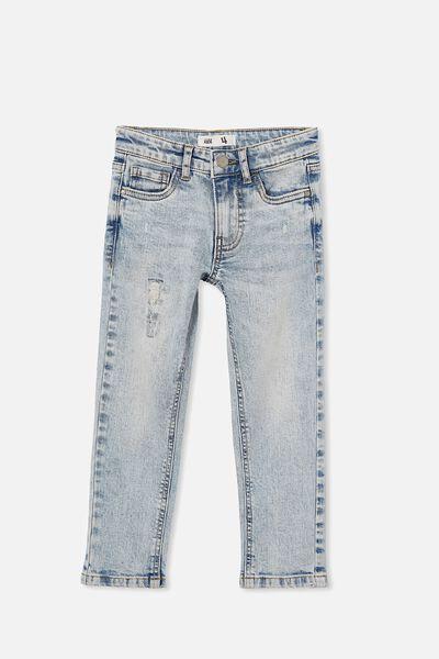 Ollie Slim Leg Jean, UTAH LT BLUE WASH