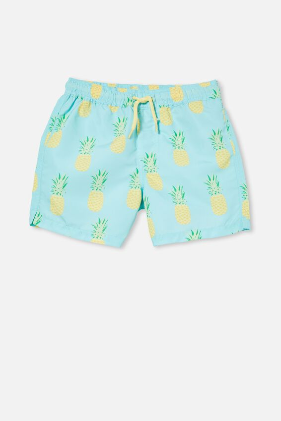 Bailey Board Short, DREAM BLUE/PINEAPPLE