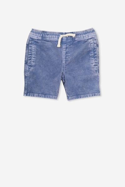 Luca Cord Short, DUSTY BLUE WASH