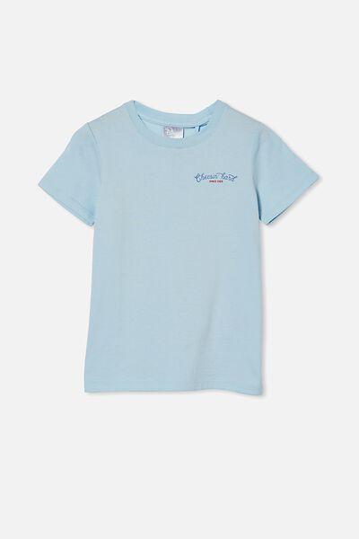 Short Sleeve License1 Tee, LCN DIS FROSTY BLUE / MICKEY