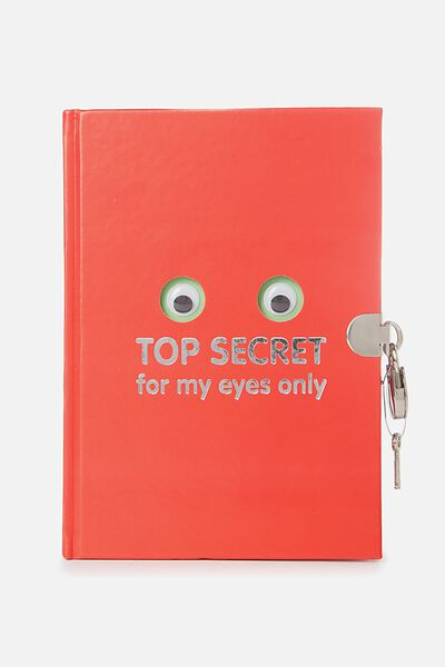 Sunny Buddy Secret Notebook, JACK