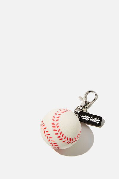 Squishy Bag Charm, BASEBALL