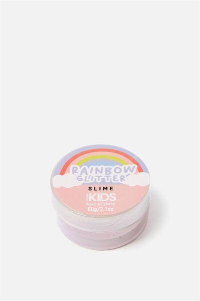 Kids Slime, RAINBOW GLITTER SLIME