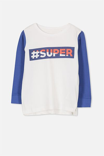 Tom Long Sleeve Tee, SUPER/SIS CUFF