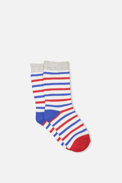 Fashion Kooky Socks, SUMMER STRIPE