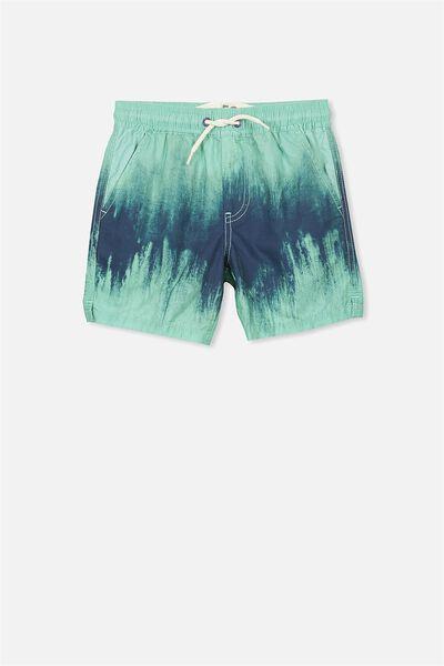 Murphy Swim Short, GELATI GREEN/WASHED NAVY TD