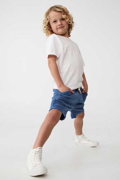 Henry Slouch Short 80/20, PETTY BLUE/TERRY TOWELLING