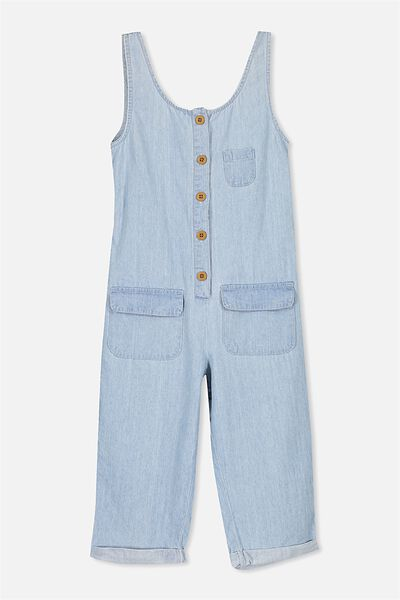 Hope Jumpsuit, LIGHT WASH