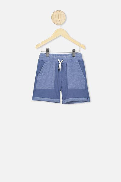 Henry Slouch Short, PETTY BLUE WASH